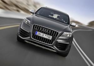 Audi Q7 V12 TDI/Fahraufnahme